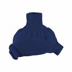 Vlněné natahovací kalhotky Disana - Navy