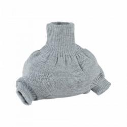 Vlněné natahovací kalhotky Disana - Gray šedé