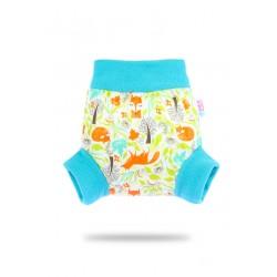 Pull-up svrchní kalhotky Petit Lulu - Lišky XL