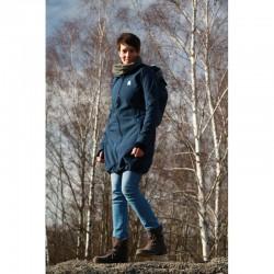 Made by Zuz Softshellový nosící kabát - tmavě modrý S