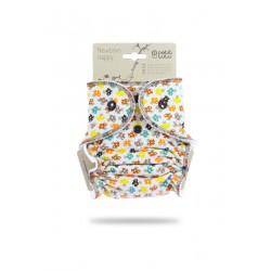 Petit Lulu novorozenecká plenka na patentky - Muchomůrky