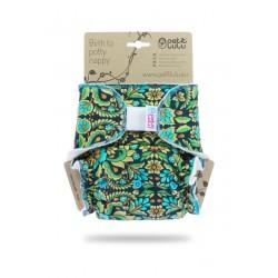 Kalhotková plena Petit Lulu na suchý zip - Ornamenty
