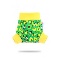Pull-up svrchní kalhotky Petit Lulu - Včelky M
