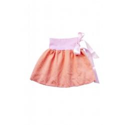 Loktu She Dívčí balónová sukně Bird Garden Apricot Ice Cream - vel. 3