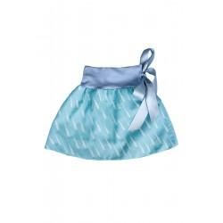 Loktu She Dívčí balónová sukně Raindrops Azure - vel. 2