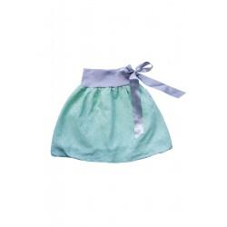 Loktu She Dívčí balónová sukně Bird Garden Mint - vel. 1