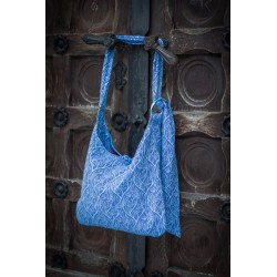 Loktu She Lok bag Bird Garden Cornflower
