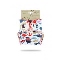 Petit Lulu novorozenecká plenka na patentky - Piráti