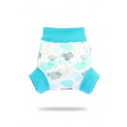 Pull-up svrchní kalhotky Petit Lulu - Mráčky L