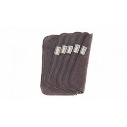 Bamboolik Ubrousek / utěrka froté šedé - sada 5 ks