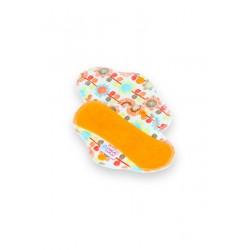 Petit Lulu látková vložka SLIP - Květinová louka (oranžová)