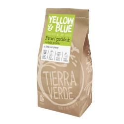 Prací prášek na bílé prádlo a látkové pleny Tierra Verde - 850 g