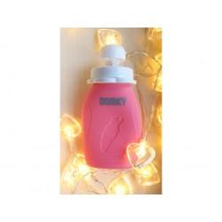 DOMKY Plnitelná silikonová kapsička - Růžová