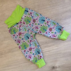Softshellové kalhoty s flísem vel. 86 - 92 - Pávy