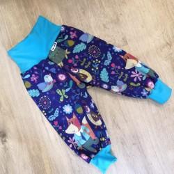 Softshellové kalhoty s flísem vel. 74 - 80 - Pan liška