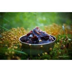 PUKKY - černé marocké mýdlo s olejem pomeranč 150g