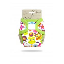 Novorozenecké svrchní kalhotky Petit Lulu - Veselé sovičky