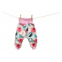 Breberky Turecké kalhoty - Motýlek na růži 56/62