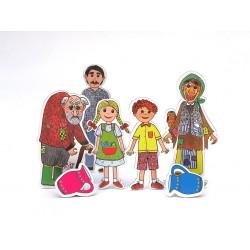 Marionetino PERNÍKOVÁ CHALOUPKA figurky 5 ks