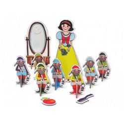 Marionetino SNĚHURKA figurky 8 ks