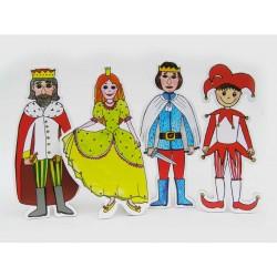 Marionetino KAŠPÁREK figurky 4 ks