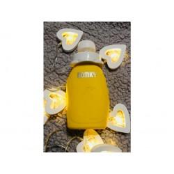 DOMKY Plnitelná silikonová kapsička - Žlutá