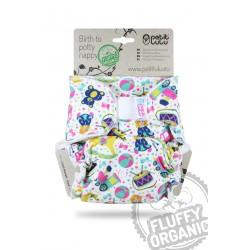 Petit Lulu kalhotková plena Fluffy Organic na SZ - Ráj hraček