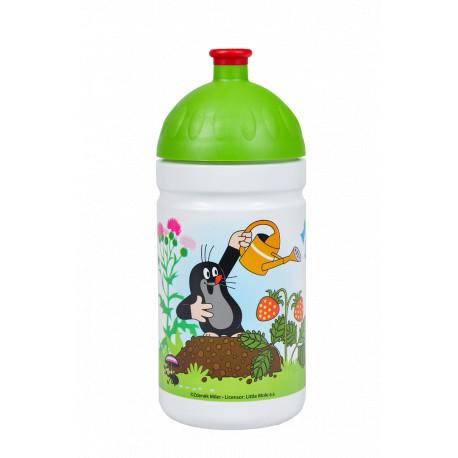 Zdravá lahev lahev Krtek a jahody 0,5l - zelené