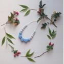 Mimijo silikonové kojící korále -Wendy Modrá
