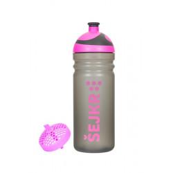 Zdravá lahev ŠEJKR růžový 0,7l