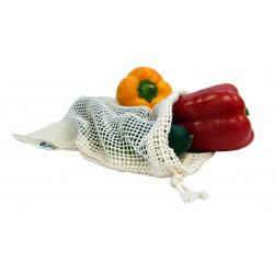 Síťový sáček z biobavlny na ovoce a zeleninu Tierra Verde - malý (30 × 20 cm)