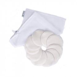 Bamboolik Sada kosmetických tampónků 10 ks + Pytlík na praní
