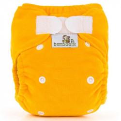 Bamboolik kalhotková plenka MiniMimi Duo - Žlutá