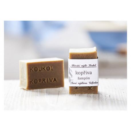 Přírodní mýdlo Koukol - Kopřiva šampón