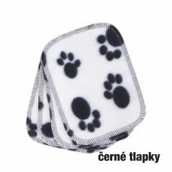 Ella´s house - Bum wipes hygienické ubrousky Black paw
