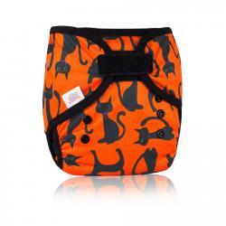 Ella´s house - Bum wrap svrchní kalhotky - black cats S
