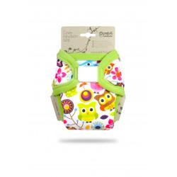Petit Lulu Novorozenecké svrchní kalhotky - Veselé sovičky
