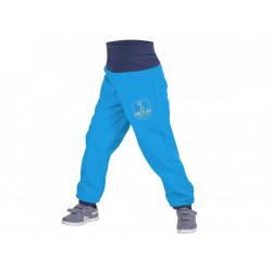 Unuo Softshellové kalhoty s fleecem vel. 86/92 - Tyrkysové