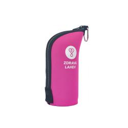 Zdravá lahev Termoobal - růžový 0,5 l