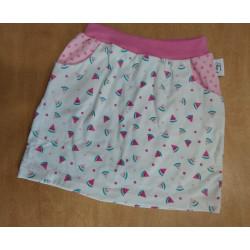 Tea's Create sukně s kapsami - Růžový meloun