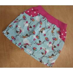 Tea's Create sukně s kapsami - Holčička s balónky