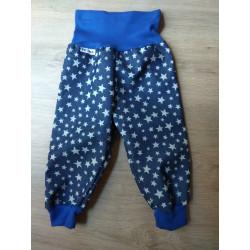 Tynka Softshellové kalhoty s flísem vel. 86 - 92 - Hvězdy na modré