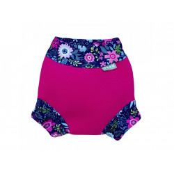 Unuo neoprénové plavky Květinky XXL