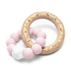 Mimijo silikonové kousátko - Růžový donut