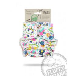 Petit Lulu novorozenecká plenka Fluffy Organic PAT - Ráj hraček