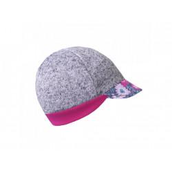 Unuo svetrovinová čepice s kšiltem Street vel. S ( 45 - 48 cm) - Květinky