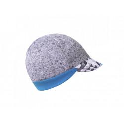 Unuo svetrovinová čepice s kšiltem Street vel. M ( 49 - 52 cm) - Metricon kluk