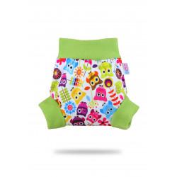 Petit Lulu pull-up svrchní kalhotky - Veselé sovičky L