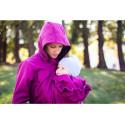 Loktu She Softshellový kabát na nošení děti - malinový melír vel. 44