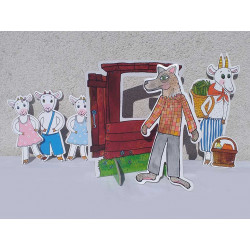 Marionetino Malá pohádka - Neposlušná kůzlátka